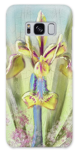 Pastel Iris Galaxy Case by Lois Bryan