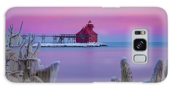 Pastel Lighthouse Galaxy Case