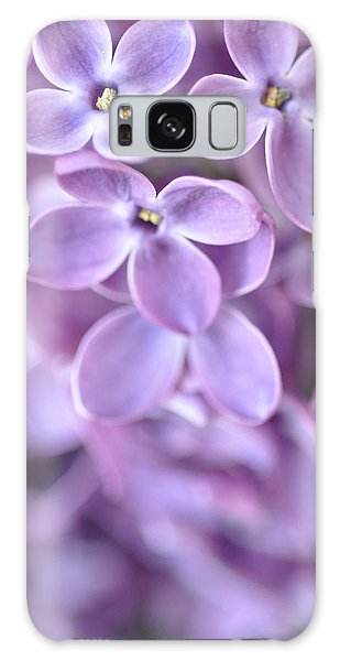 Pastel Lilacs Galaxy Case