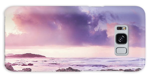 Seashore Galaxy Case - Pastel Purple Seashore by Jorgo Photography - Wall Art Gallery