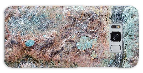 Pastel Rock Patterns Galaxy Case