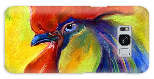 Colorful Galaxy Case - Pastel Rooster By Svetlana Novikova ( by Svetlana Novikova