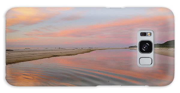 Pastel Skies And Beach Lagoon Reflections Galaxy Case