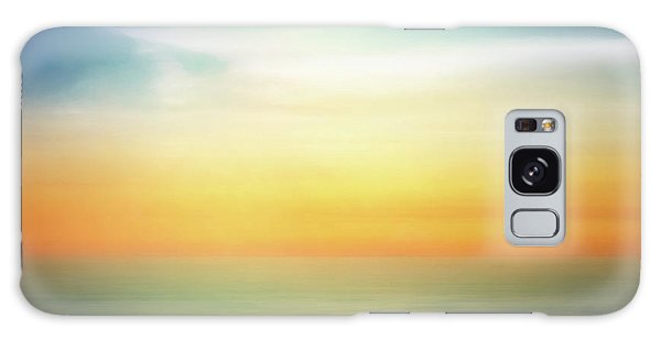Bright Sun Galaxy Case - Pastel Sunrise by Scott Norris