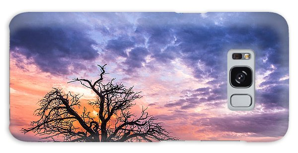 Pastel Sunset Galaxy Case
