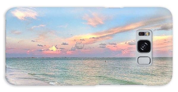 Pastel Sunset On Sanibel Island Galaxy Case