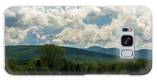 Pastoral Landscape With Mountains Galaxy Case