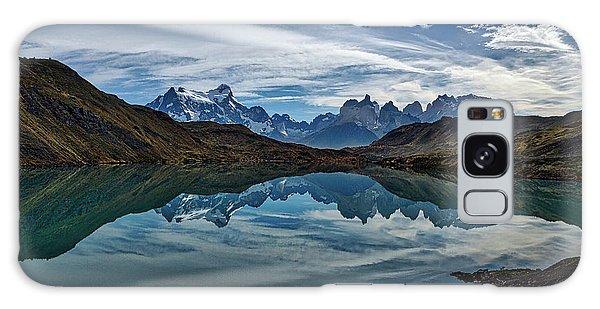 Patagonia Lake Reflection - Chile Galaxy Case