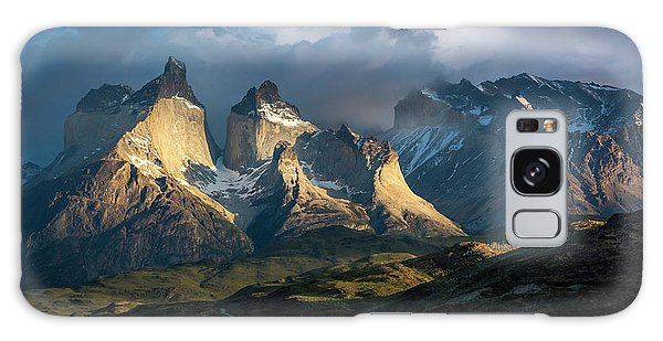 Patagonian Sunrise Galaxy Case by Andrew Matwijec