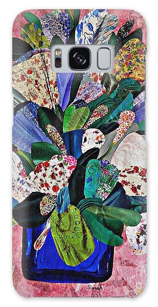 Patchwork Bouquet Galaxy Case