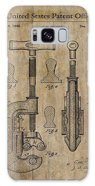 Patent Art Pipe Cutter 1945 Galaxy Case