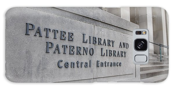 Paterno Library At Penn State  Galaxy Case by John McGraw
