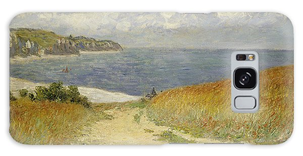 Path In The Wheat At Pourville Galaxy Case