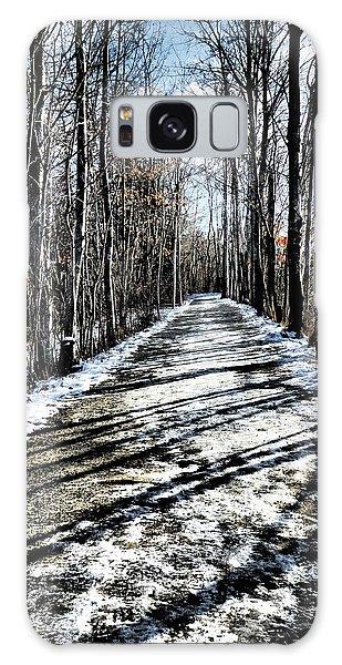 Path In Winter Galaxy Case