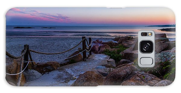 Path To The Beach Galaxy Case by Tim Kirchoff