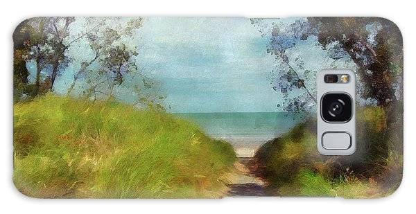 Path To Whihala Beach 2 Galaxy Case by Cedric Hampton
