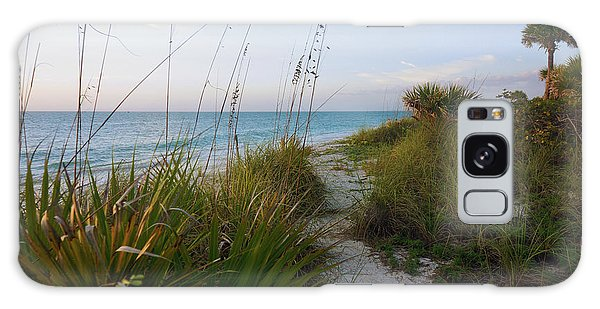 Pathway To Barefoot Beach  In Naples Galaxy Case