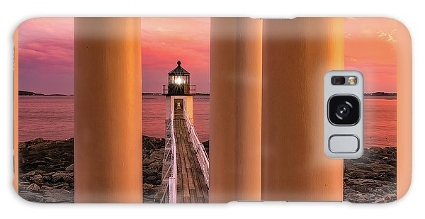 Galaxy Case featuring the photograph Marshall Point - Beacon Of Light by Expressive Landscapes Fine Art Photography by Thom
