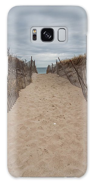 Pathway To The Beach Galaxy Case