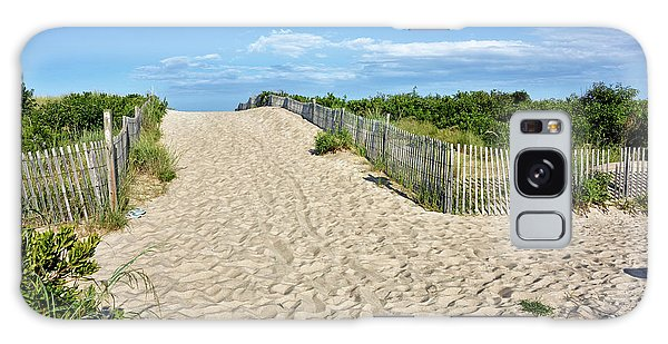Pathway To The Beach - Delaware Galaxy Case by Brendan Reals