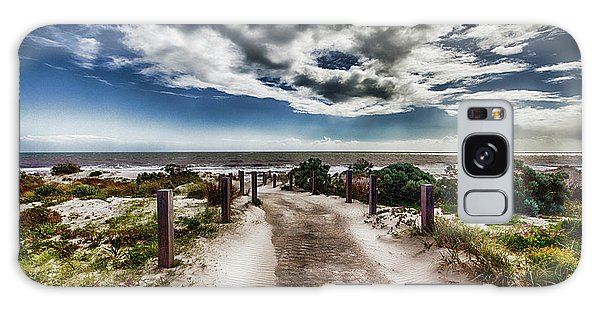 Pathway To The Beach Galaxy Case by Douglas Barnard