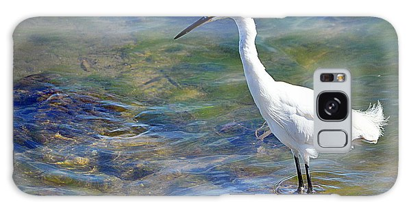 Galaxy Case featuring the photograph Patient Egret by AJ Schibig