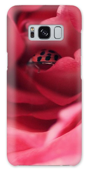 Patient Lady Galaxy Case by The Art Of Marilyn Ridoutt-Greene