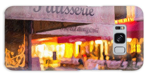 Patisserie - Paris Art Print Galaxy Case
