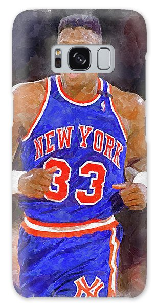 New Trend Galaxy Case - Patrick Ewing Paint by Ricky Barnard