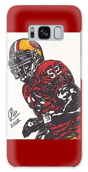 Patrick Willis Galaxy Case by Jeremiah Colley