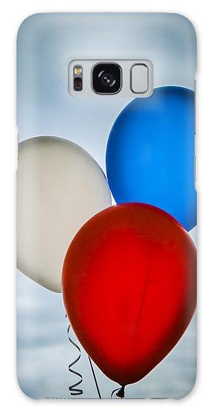 Patriotic Balloons Galaxy Case by Carolyn Marshall
