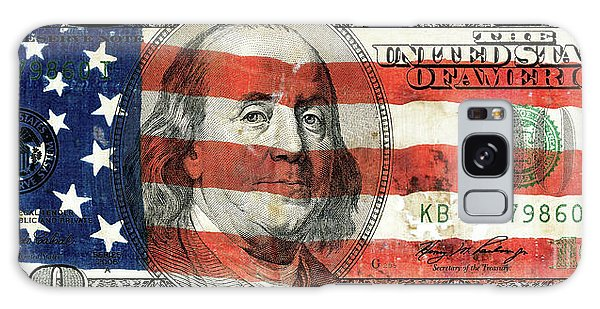 Hundred Galaxy Case - Patriotic Benjamin by Jon Neidert