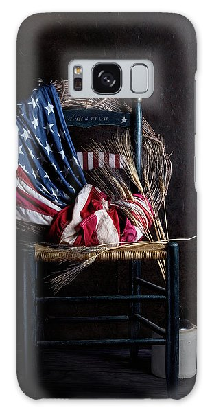Symbolism Galaxy Case - Patriotic Decor by Tom Mc Nemar