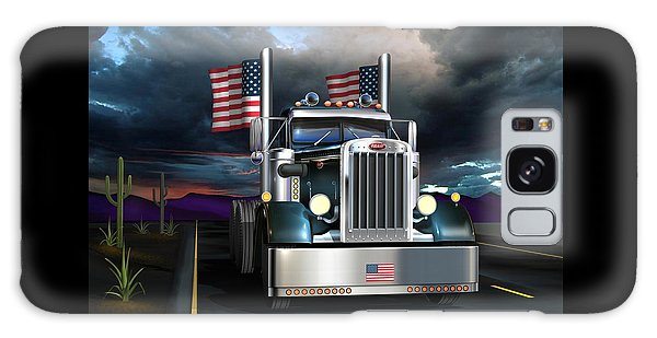 Semis Galaxy Case - Patriotic Pete by Stuart Swartz