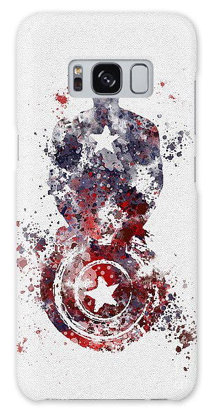 Patriotic Supersoldier Galaxy Case