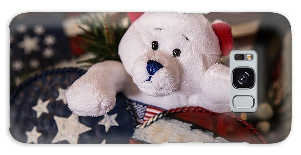 Patriotic Teddy Bear Galaxy Case