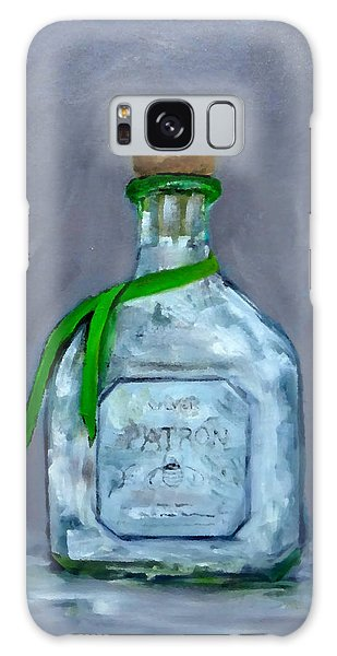 Patron Silver Tequila Bottle Man Cave  Galaxy Case