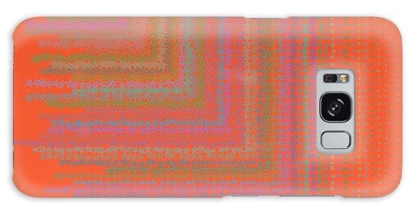Galaxy Case featuring the digital art Pattern 192 by Marko Sabotin