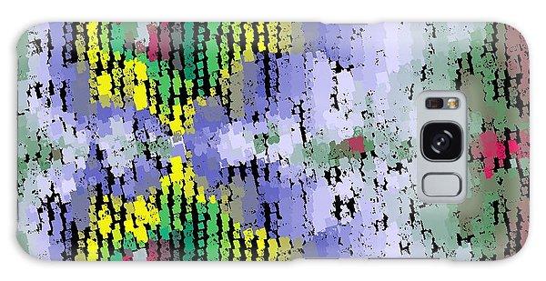 Galaxy Case featuring the digital art Pattern 202 by Marko Sabotin