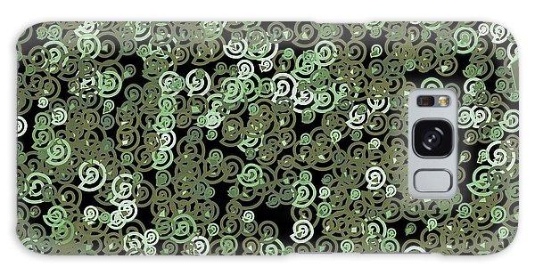 Galaxy Case featuring the digital art Pattern 209 by Marko Sabotin