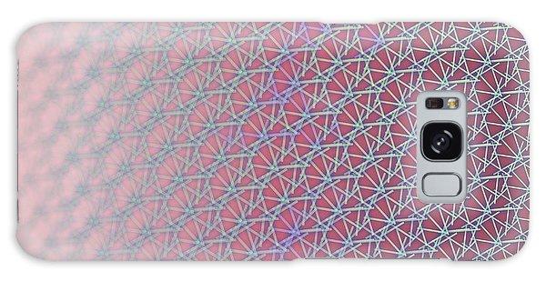 Galaxy Case featuring the digital art Pattern 212 by Marko Sabotin