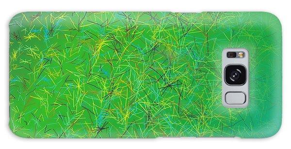 Galaxy Case featuring the digital art Pattern 215 by Marko Sabotin