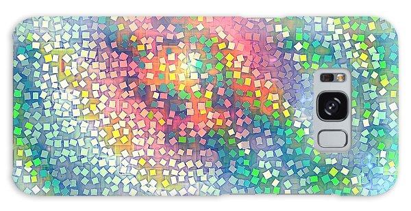 Galaxy Case featuring the digital art Pattern 229 by Marko Sabotin