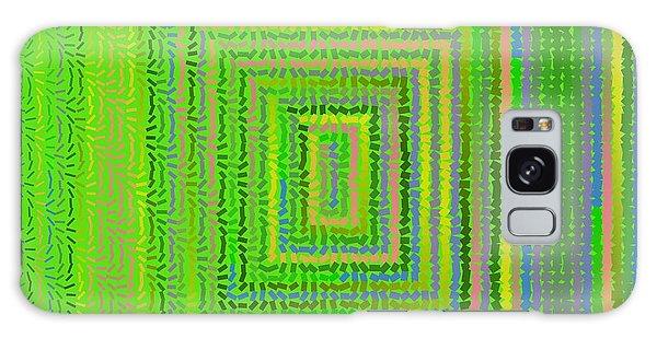 Galaxy Case featuring the digital art Pattern 231 by Marko Sabotin