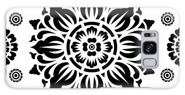 Pattern Art 01-2 Galaxy Case by Bobbi Freelance