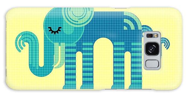 Pattern Elephant Galaxy Case