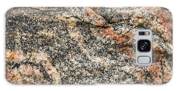 Pattern In A Granite Rock - Square Format Galaxy Case
