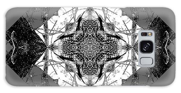 Pattern In Black White Galaxy Case