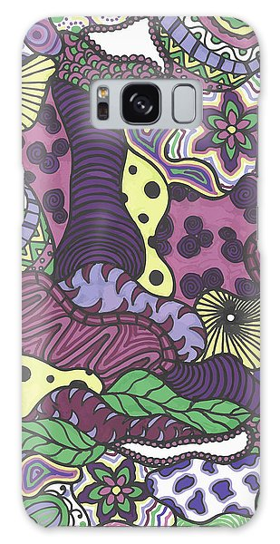 Pattern Jungle Galaxy Case
