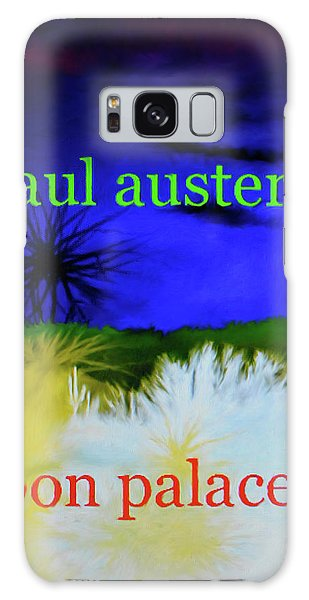 Paul Auster Poster Moon Palace Galaxy Case